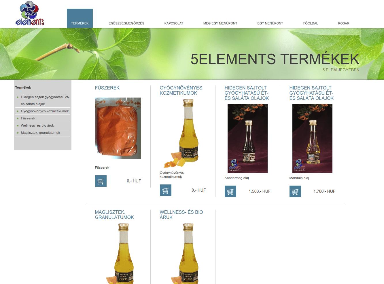5elements webáruház