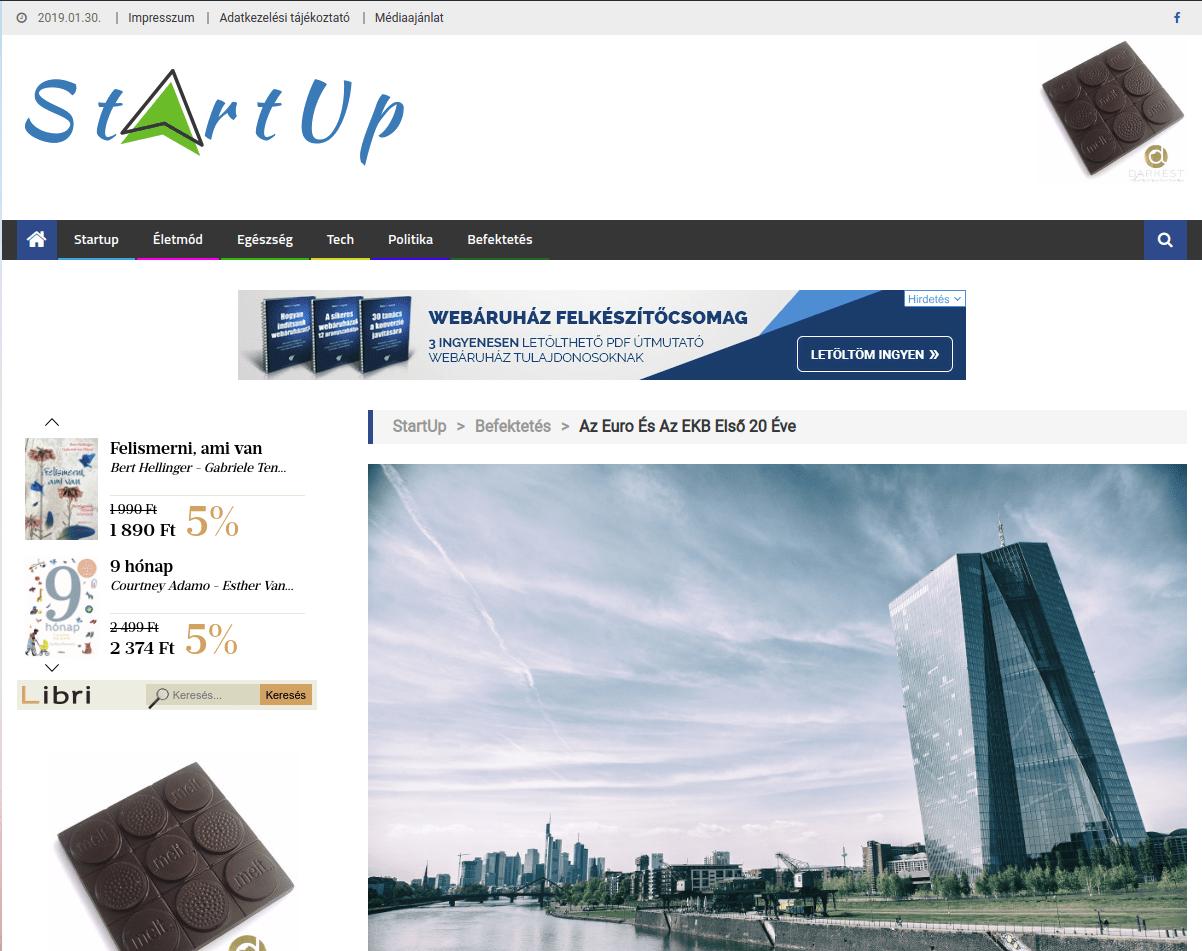 startup.co.hu - minden ami említésre érdemes - PR cikkek